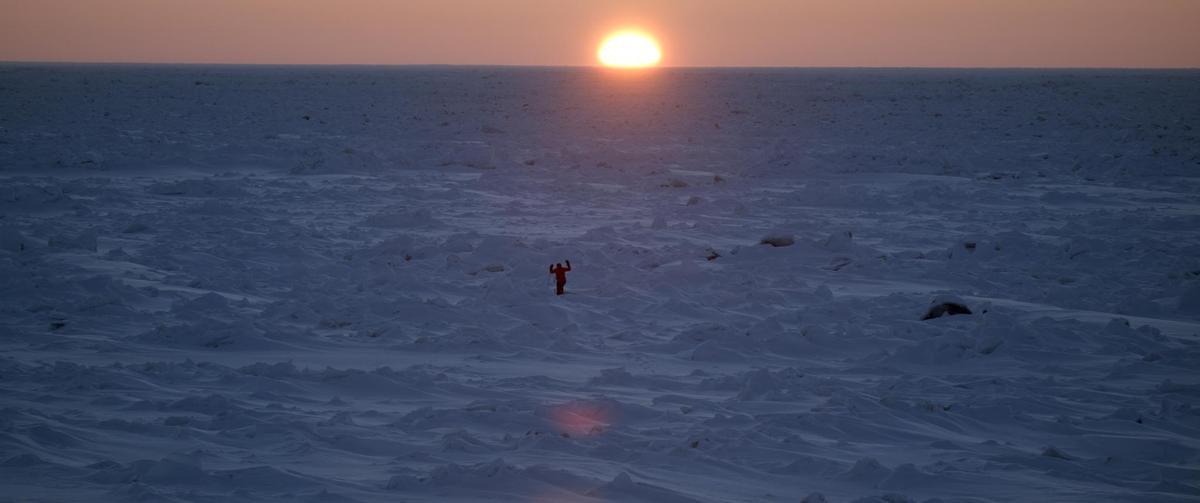 陳彥博在南極挑戰。(牽猴子整合行銷提供)