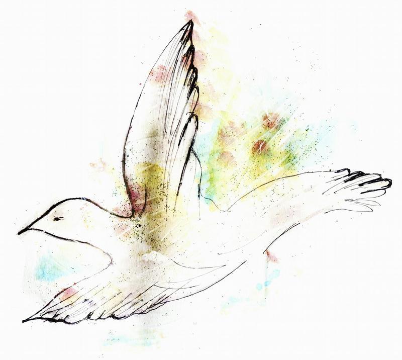 我們看到畫中有鴿子,可能會聯想到「和平」,因為那是鴿子的象徵。象徵與美感無關,但若錯失了象徵意義,往往也就難以完整或正確的欣賞作品。(東方IC)