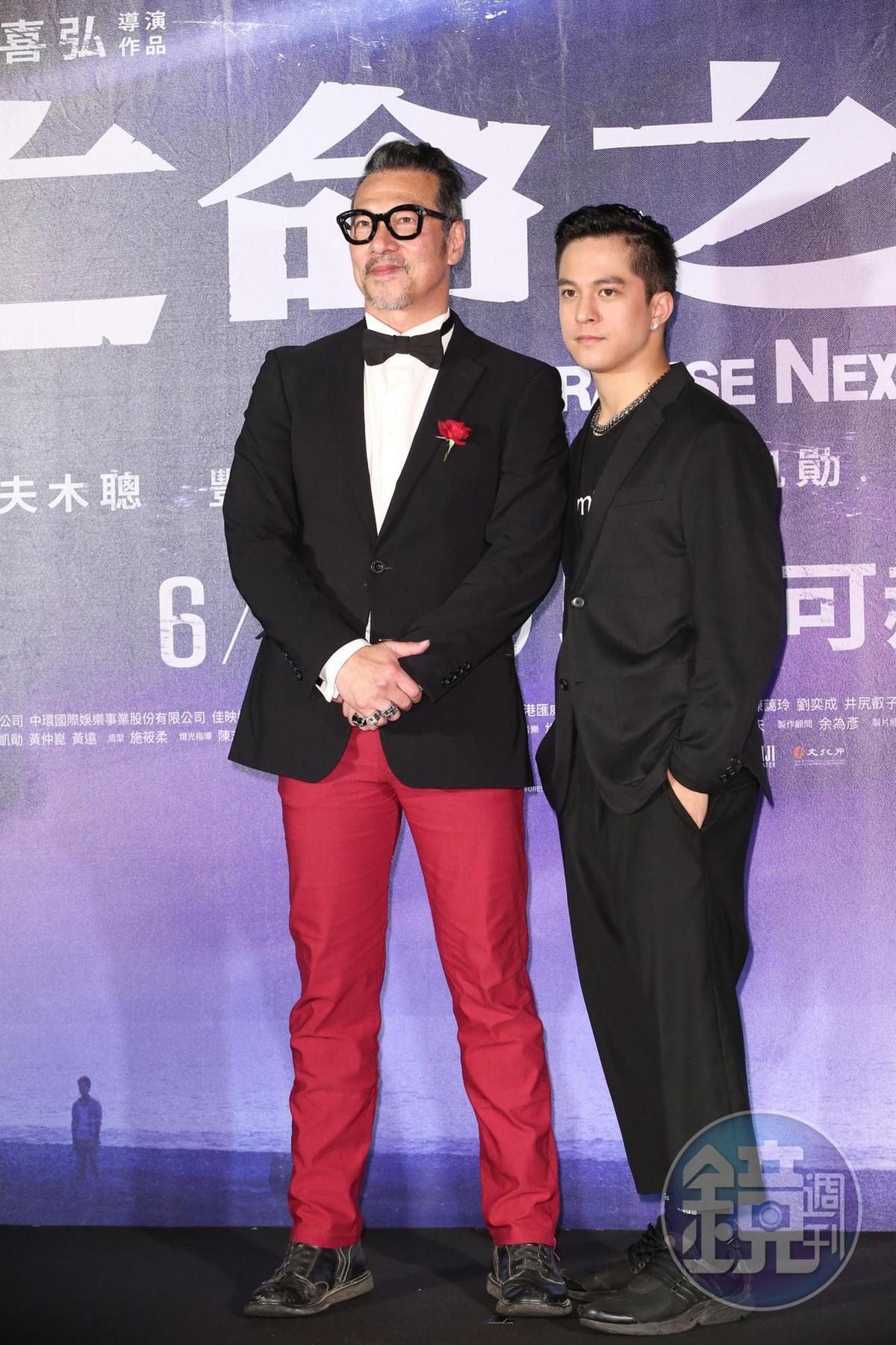 黃仲崑與黃遠父子是首度在電影中同台。