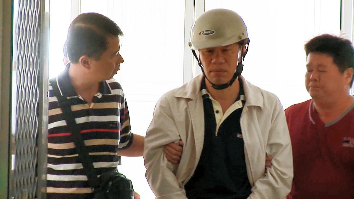 犯下雙屍案的邱鼎淯在案發7年後,終被繩之以法。(東森新聞提供)