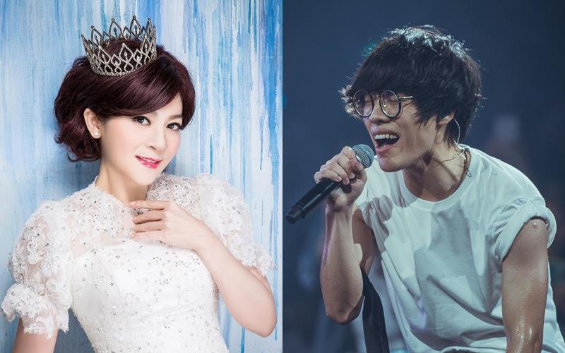 王彩樺和盧廣仲受邀頒發金曲獎「最佳台語男歌手」、「最佳台語女歌手」及「最佳台語專輯」等三項大獎。(台視提供)