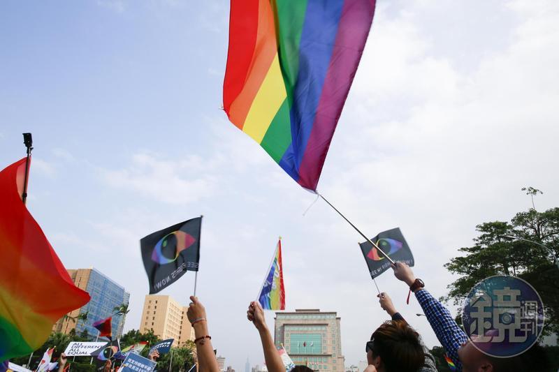 日本3在野黨向眾議院提出首個同性婚姻民法修正案。(本刊資料照)