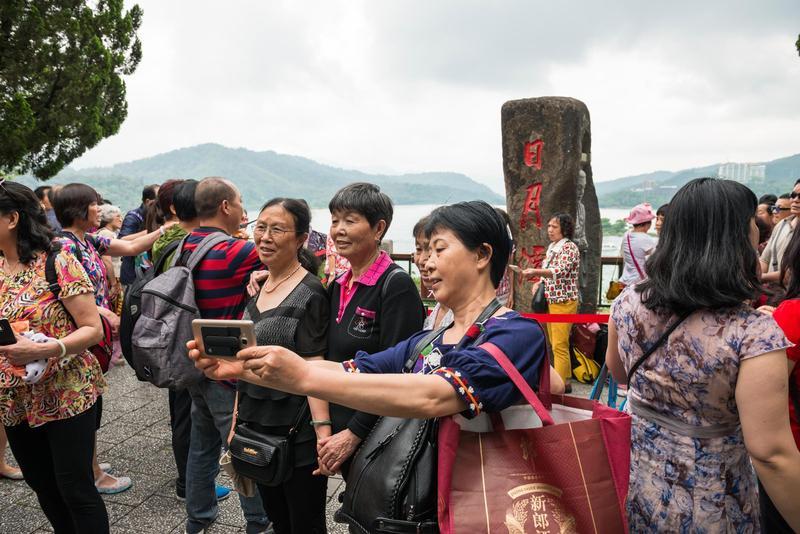 南投日月潭為陸客造訪台灣必遊景點之一。(東方IC)