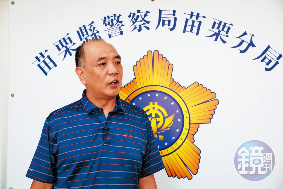 時任苗栗警分局偵查隊副隊長的徐李清(圖)說,林昆翰是個分不清現實與想像的宅男。