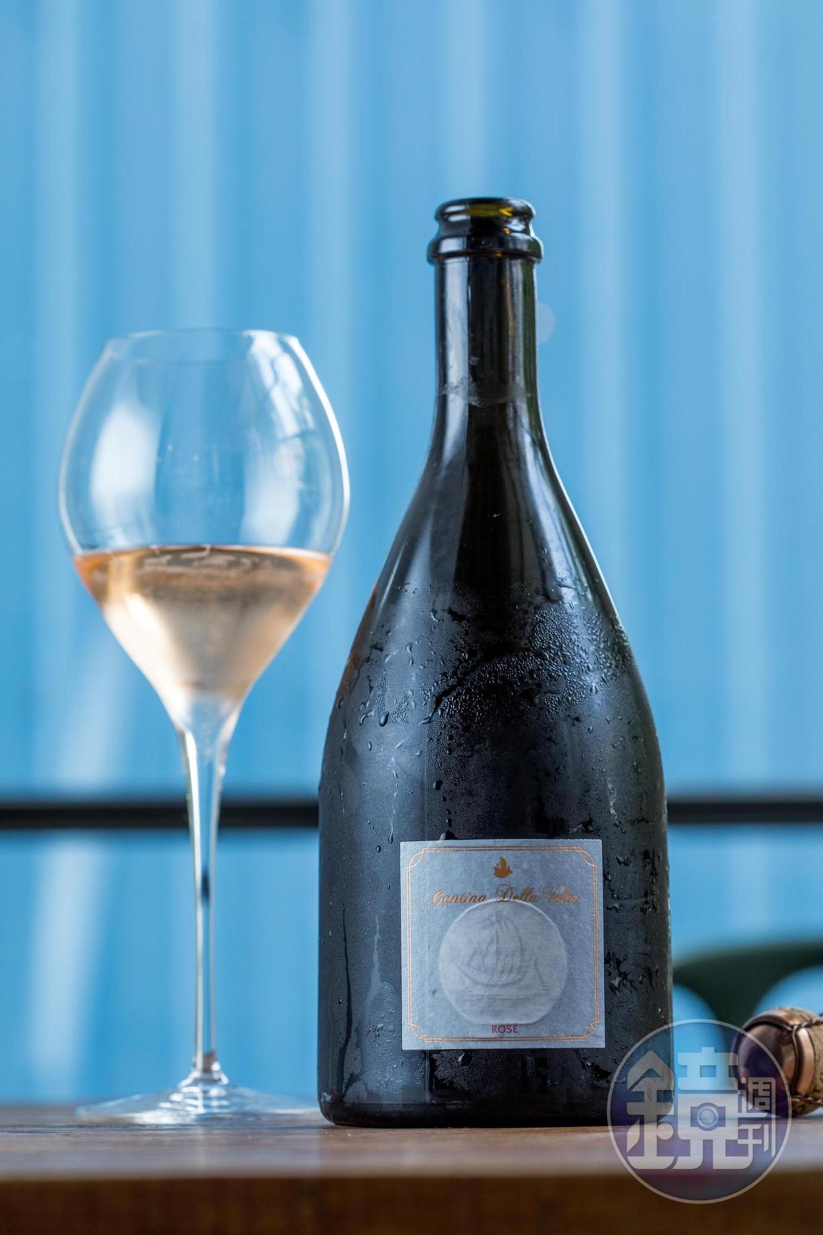 Boris 用義大利氣泡酒為餐宴帶來活潑快樂的開場。(價格請洽店家)
