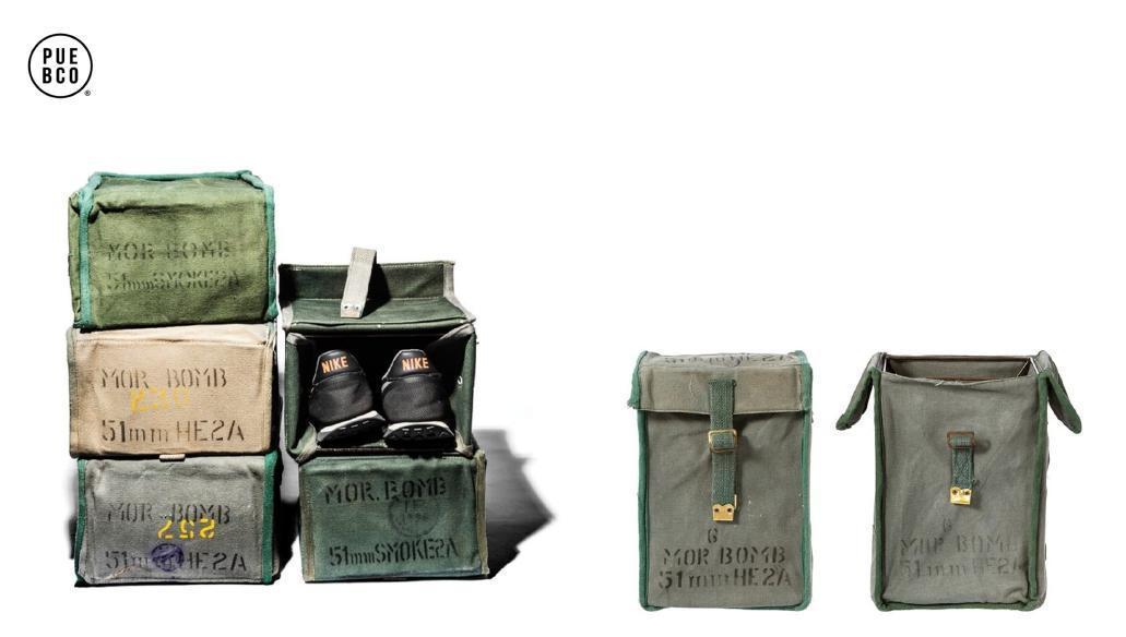 VINTAGE EQUIPMENT BOX 軍事風多功能收納盒 售價:$1180