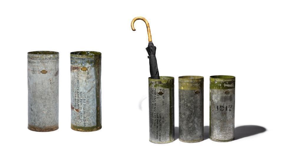 VINTAGE UMBRELLA STAND 復古工業風仿舊傘筒 售價:$1,890