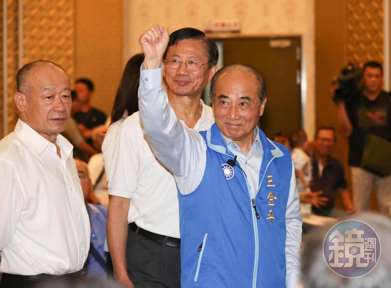 王金平宣布退出初選遊戲,重新收攏地方組織,下一步備受關注。