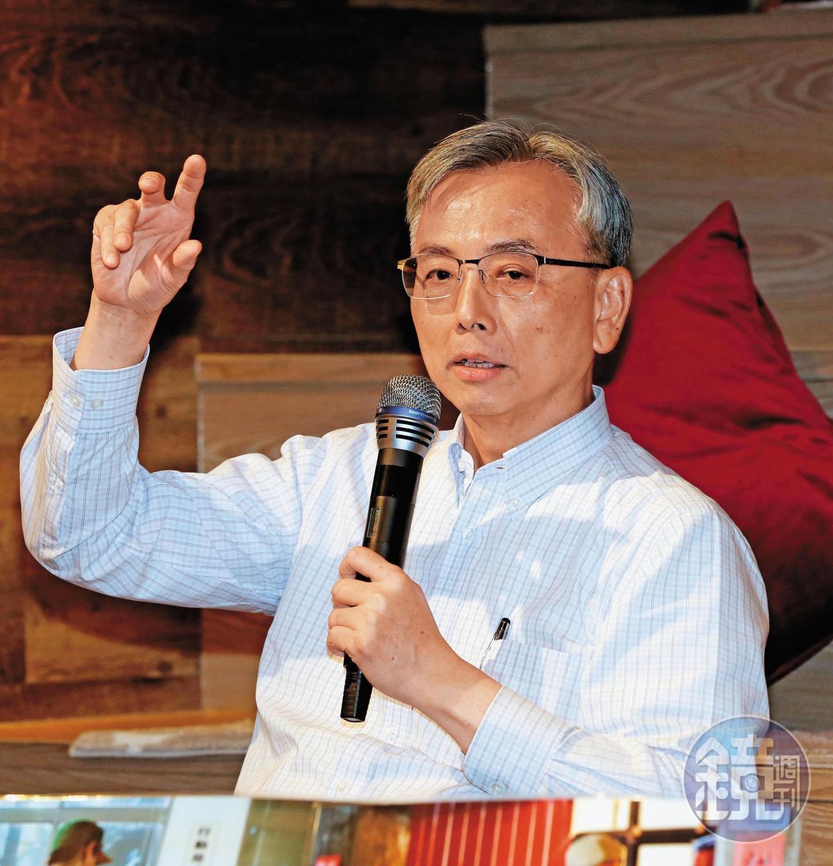 前李登輝辦公室主任蘇志誠(圖)包攬王金平競選決策,但王最後卻走不下初選之路。