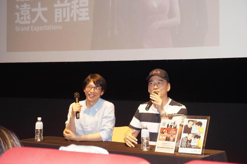 王耀慶與林奕華合作7部劇之多,2人默契甚深,王耀慶還能幫講話深奧的林奕華充當翻譯。(甲上提供)