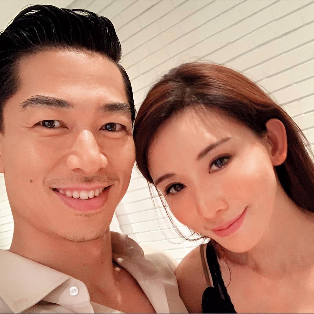 林志玲(右)6月6日閃嫁AKIRA,並隨即飛出國度蜜月,小倆口祕密交往才半年就決定結婚,震驚演藝圈。(翻攝自林志玲IG)