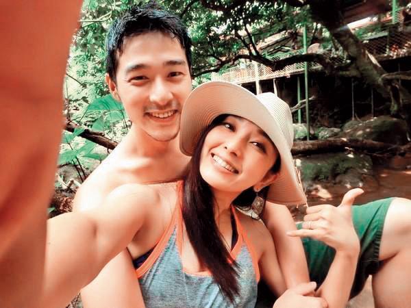 周洺甫與愛紗也是短命婚,有一說是男生劈腿偷吃。(翻攝愛紗IG)