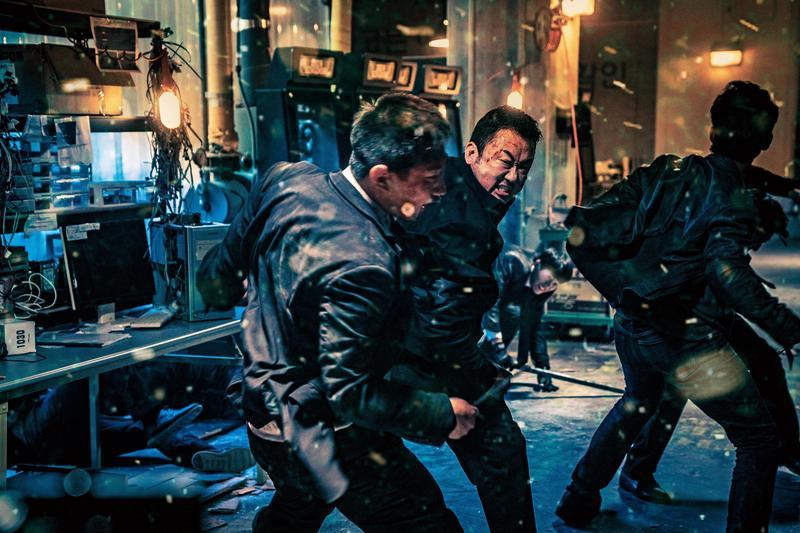 馬東石拍攝動作戲時渾身狠勁,連演員看了都問:「真的會打死人吧?」(威視電影提供)