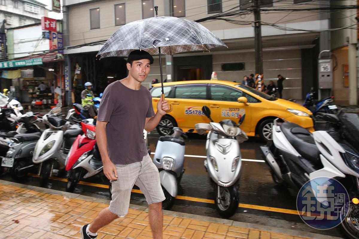馬如龍在《艋舺》演Geta老大,「太子幫」的鳳小岳獨自到場致意。