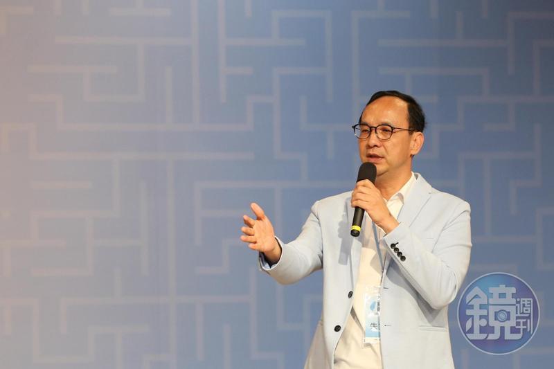 國台辦發言人稱香港「一國兩制」是舉世矚目的成功,朱立倫今(12日)再次重申,一國兩制在台灣沒有任何市場。(本刊資料照)