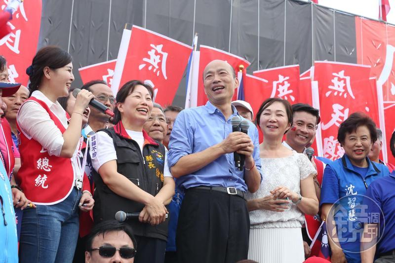 回應香港反送中抗爭衝突,高雄市長韓國瑜重申堅持九二共識、反對台獨、不接受一國兩制。