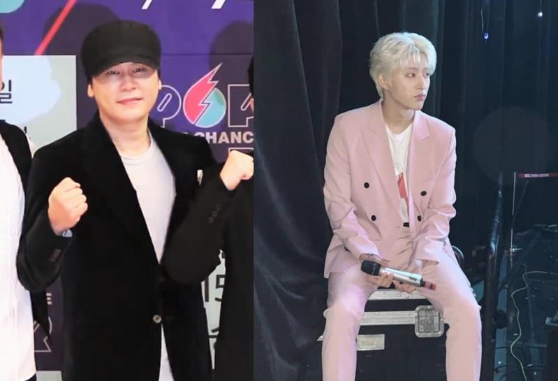 韓男團iKON隊長B.I涉購買毒品自請退團,並被YG娛樂終止合約。(網路圖片)