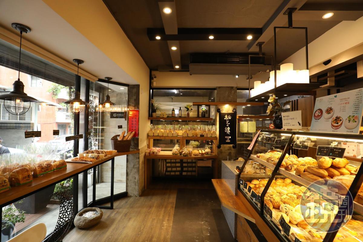 淡水人氣麵包店「和正農作」。