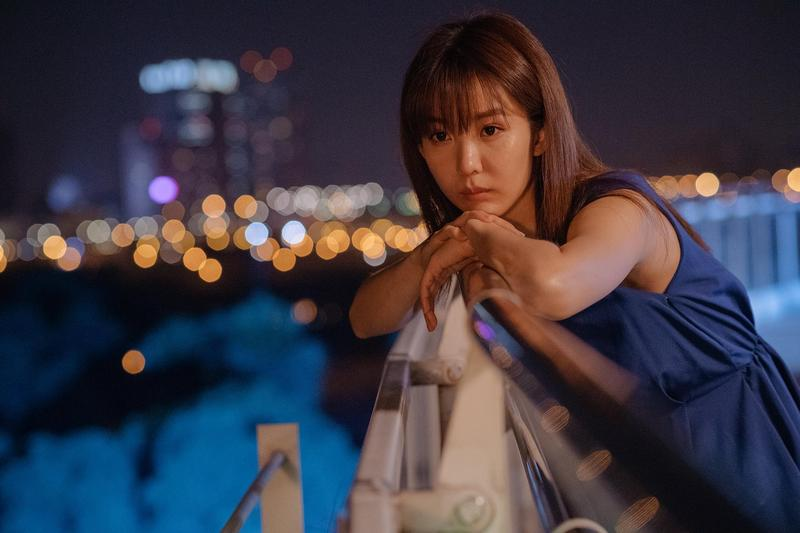 郭書瑤演出藍正龍執導的愛情文藝片《傻傻愛你,傻傻愛我》,入圍台北電影獎最佳女主角,也會出席「她/他的台北電影獎」對談。(台北電影節提供)