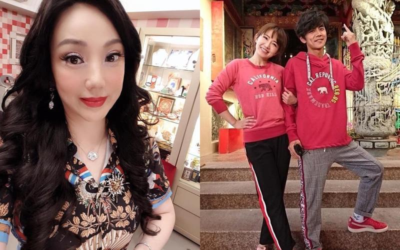 沈嶸透露謝忻默默在等候阿翔與老婆關係變淡。(翻攝自沈嶸、謝忻臉書)