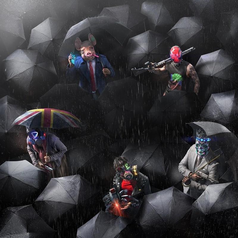 Ubisoft在臉書PO出《看門狗:自由軍團》的美術圖,搭配貼文內容讓人引發政治聯想,如今貼文已遭刪除。(翻攝自Ubisoft臉書)