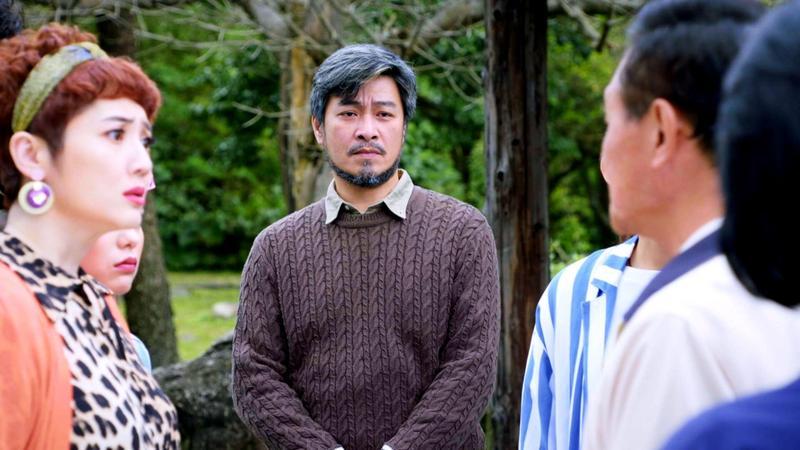 劉漢強和謝坤達在《月村歡迎你》中搭檔演出。(三立提供)