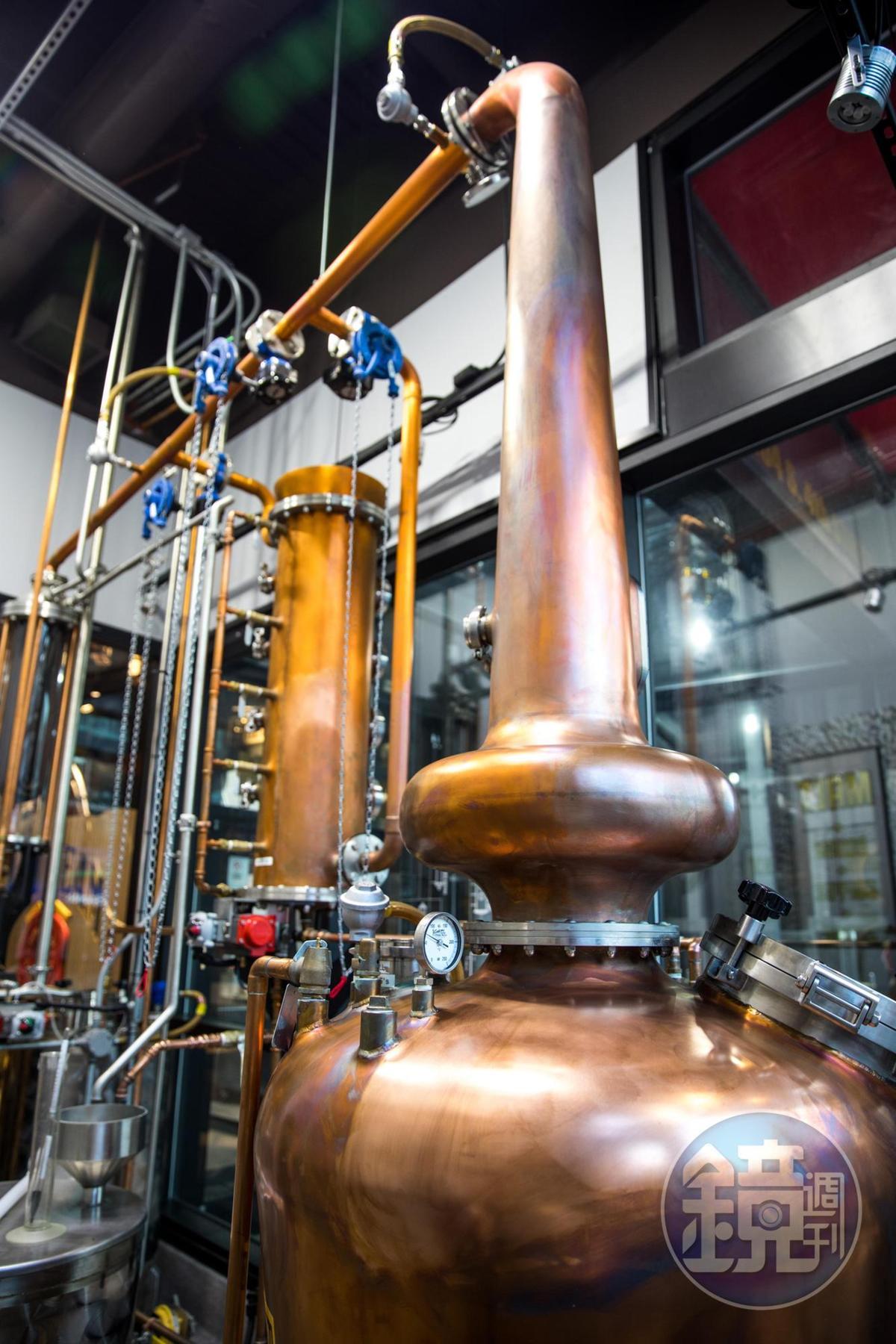 Urban Stillhouse也有自己的微型蒸餾室,可做小批次的實驗。