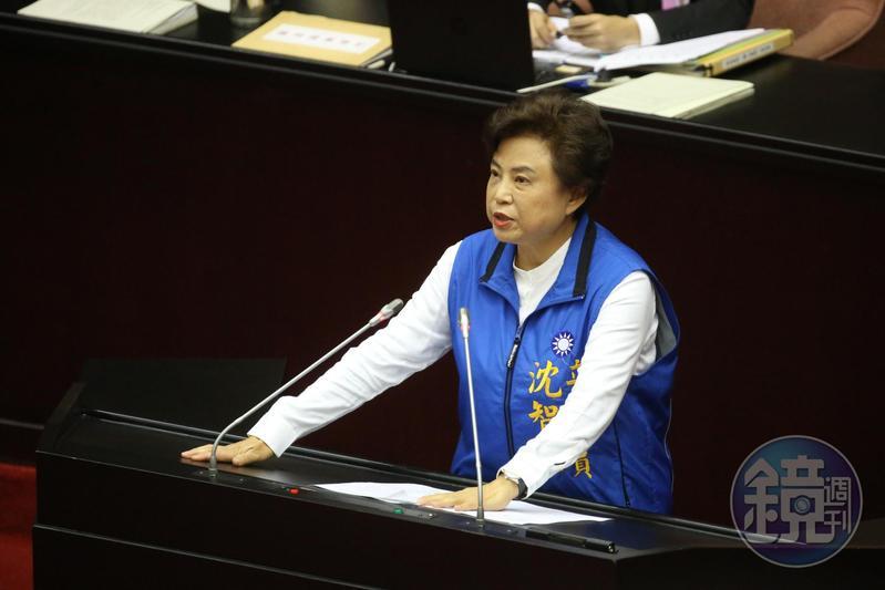 立委沈智慧遭爆赴中國演講支持一國兩制,網友怒喊「公然叛國」。(本刊資料照)