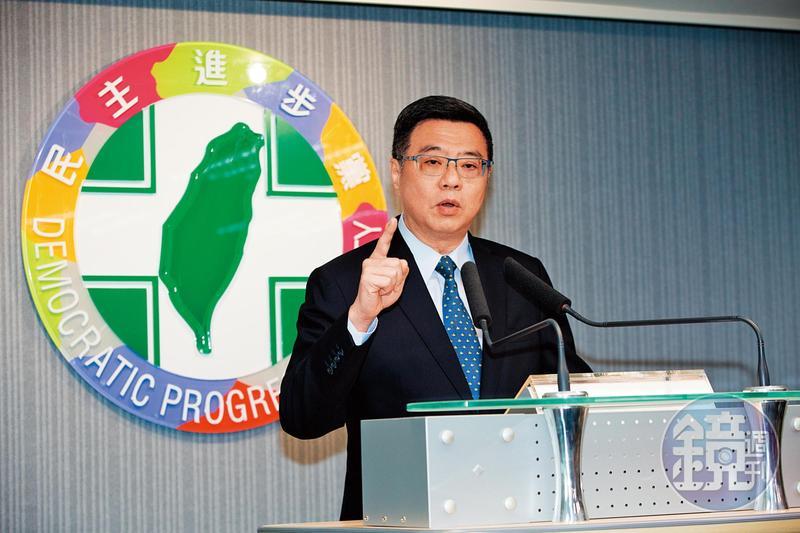 民進黨主席卓榮泰(圖)已啟動黨內整合工作,強調蔡英文與賴清德合作有很多種模式,不一定是「蔡賴配」。