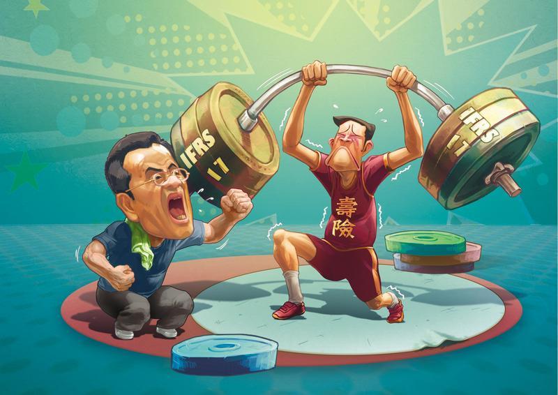 被稱為保險業魔王的國際會計準則IFRS 17將上路,主管機關不敢輕忽緊盯,台灣壽險業者面臨增資逾兆的壓力。
