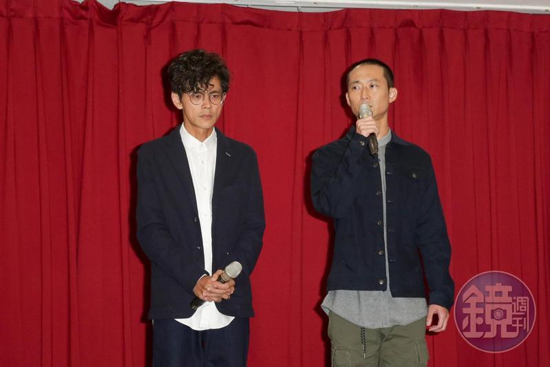 阿翔和謝忻婚外情曝光,搭檔浩子表示隔天接到媽媽電話,要他不能和阿翔拆夥。