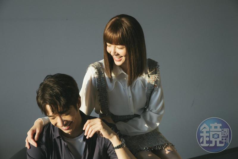 郭雪芙和劉以豪再度合作,兩人都感覺到對方的變化。