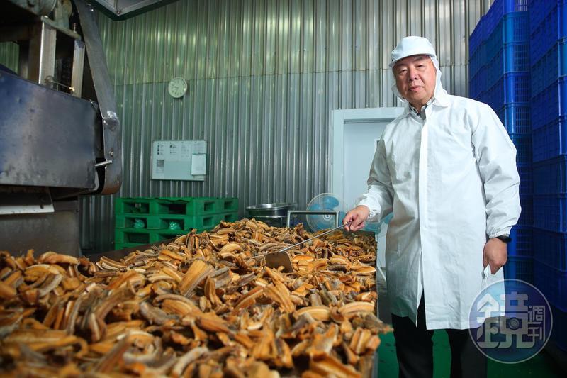吳天賜18歲接班,帶領東和食品從農產轉型水產加工,拚出一片天。