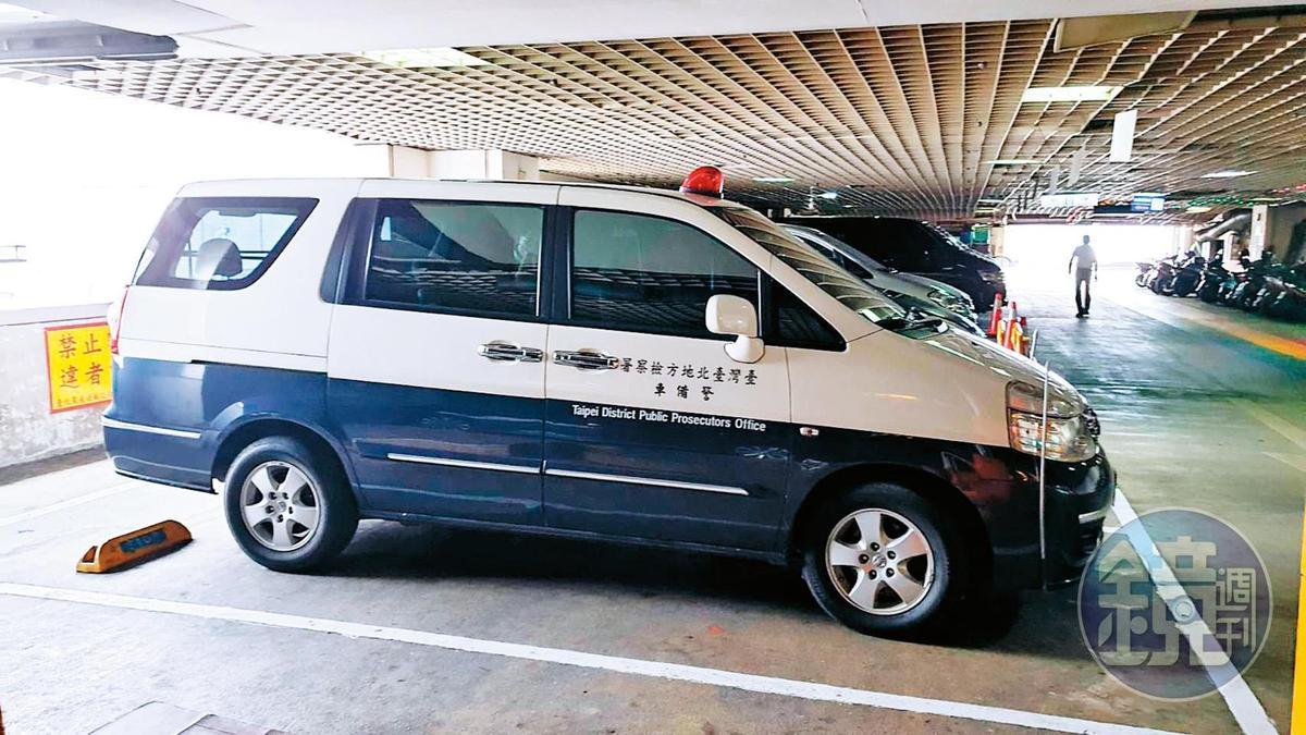 6/19   10:30~12:30 本刊6月19日直擊北檢警備車前往北農調閱韓國瑜任內濫用公款的資料。