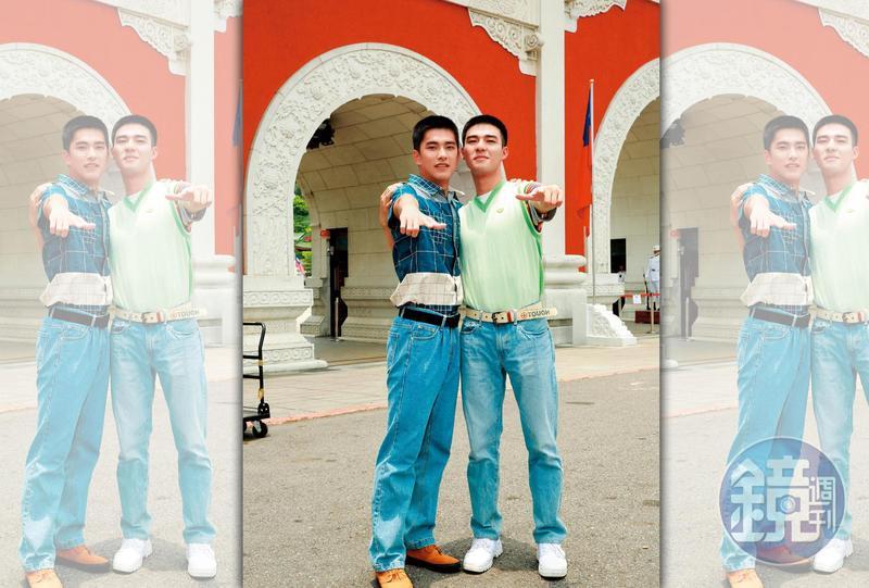 瞿友寧監製的電影《刻在你心底的名字》被爆要求片中飾演同志情侶的陳昊森(右)、曾敬驊(左)真槍實彈拍口交戲。
