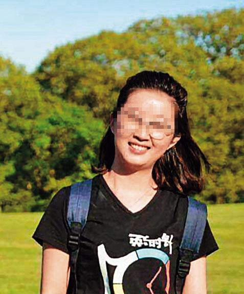 大陸留學生章瑩穎在美國遭姦殺。(翻攝自伊利諾伊大學警察局)