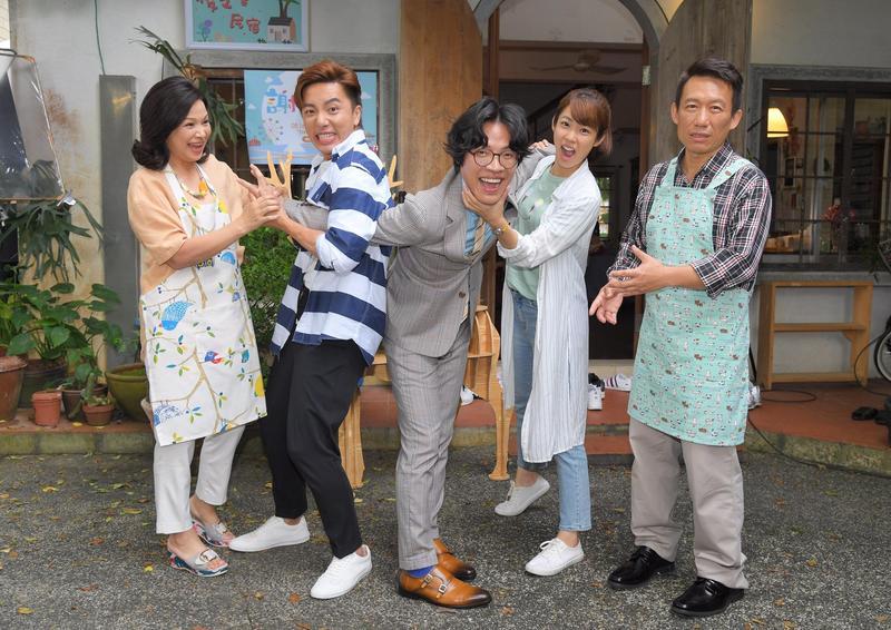 客串《月村歡迎你》是盧廣仲去年奪得金鐘視帝後,首度參與戲劇演出。(三立提供)