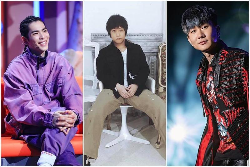 林俊傑、蕭敬騰及五月天阿信都是周董的好朋友。