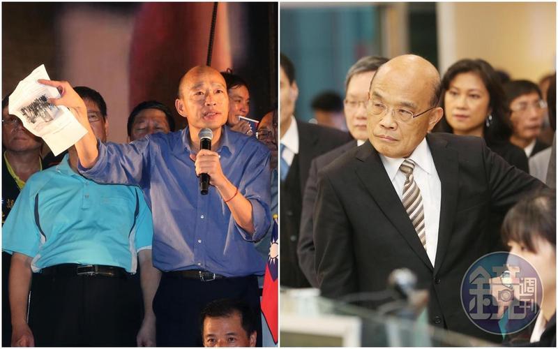 行政院長蘇貞昌呼籲韓國瑜,用心好好守住高雄登革熱疫情,不要到處爬爬走、亂放話。