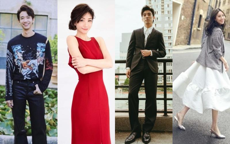 劉以豪(左起)、李千那、林哲熹、隋棠,都將出席本週六舉行的台北電影獎頒獎典禮。(台北電影節提供)