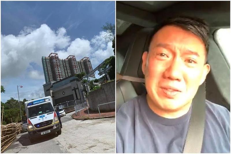 有香港網友留言想不開,港星杜汶澤今(5日)焦急開直播尋人。(翻攝自杜汶澤臉書)