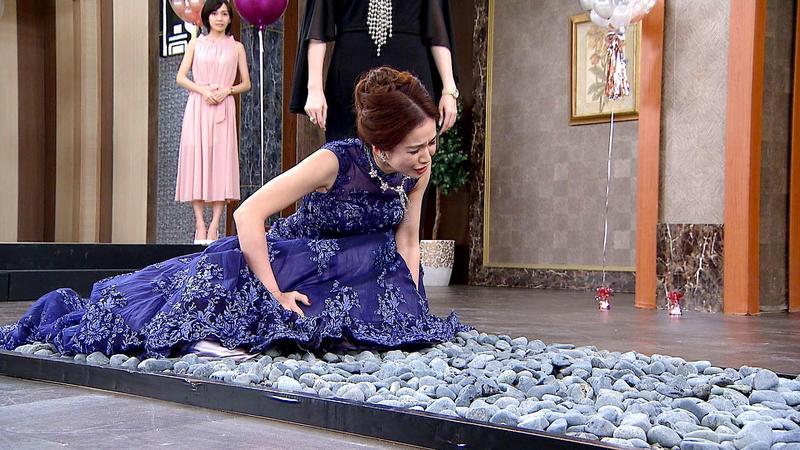 陳小菁《炮仔聲》辦婚禮竟出現天堂路橋段。(三立提供)
