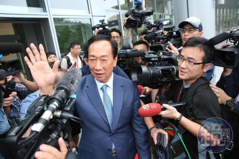 郭台銘再度於臉書重申富人稅的政見及具體作法。