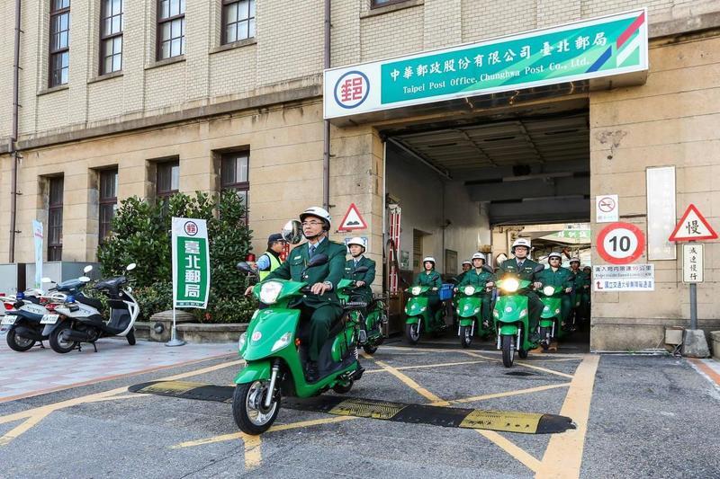 中華汽車e-moving在商用電動機車市場占有率超過9成,中華郵政就大量採購供郵差騎乘。(翻攝e-moving官網)