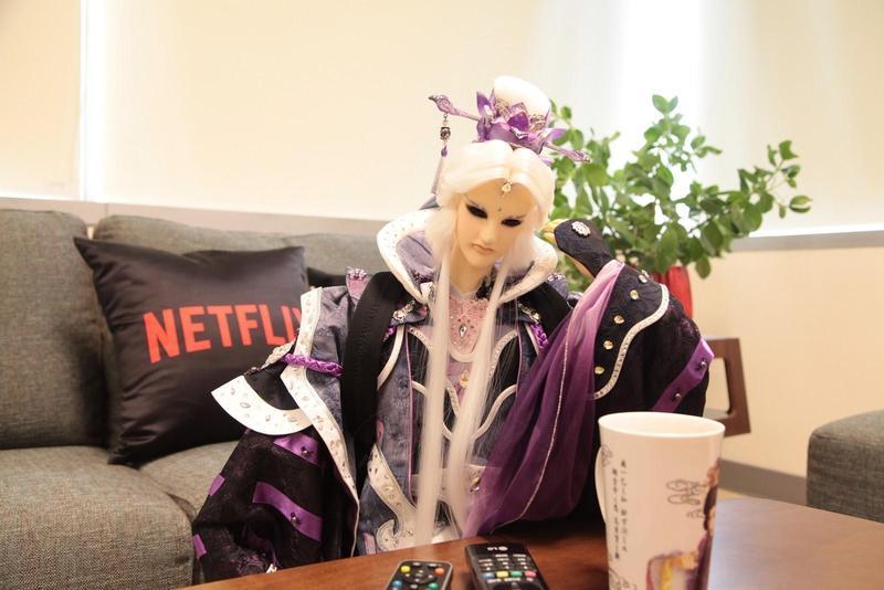 霹靂布袋戲《刀說》上半年在威秀影城大銀幕播放,緊接著將在Netflix串流影音平台上架。(霹靂國際提供)