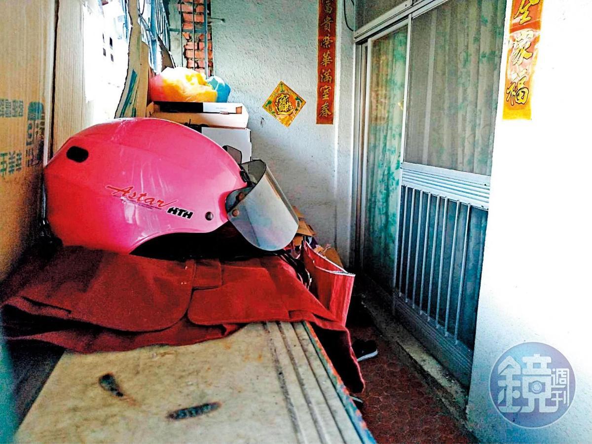 鄭嫌一家在台南市和順國宅租屋居住近10年。