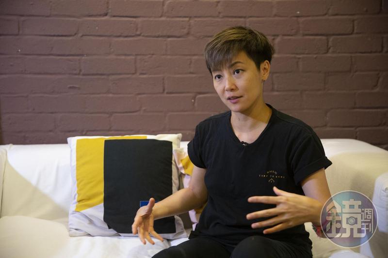 香港歌手何韻詩。