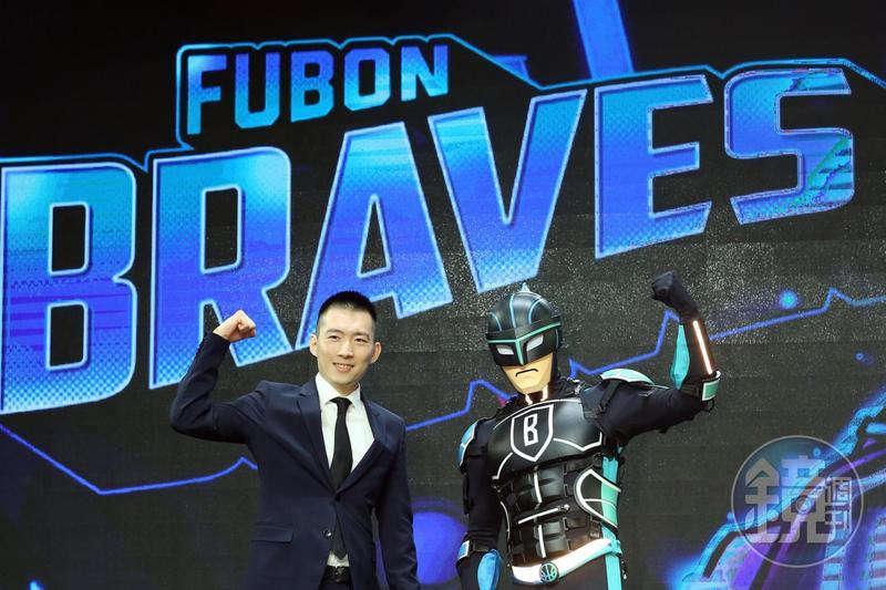 蔡承儒熱愛籃球,還親自替富邦勇士隊設計LOGO。