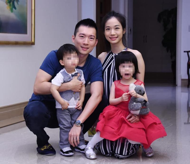 蔡承儒和鄭舒秦結婚超過3年,夫妻感情好常一起放閃。(翻攝自Annie Jeng 鄭舒秦臉書)
