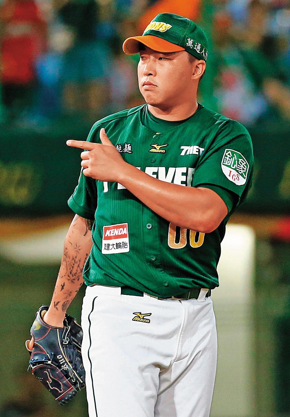 「不死鳥」郭泓志離開富邦悍將,日前更表態有意願參加年底世界12強棒球賽。(東方IC)